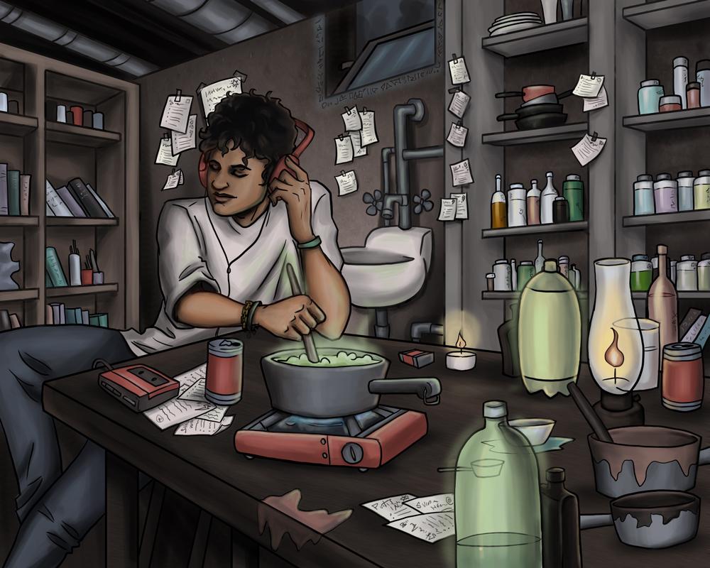 Street Sorcerer's Potions Lab