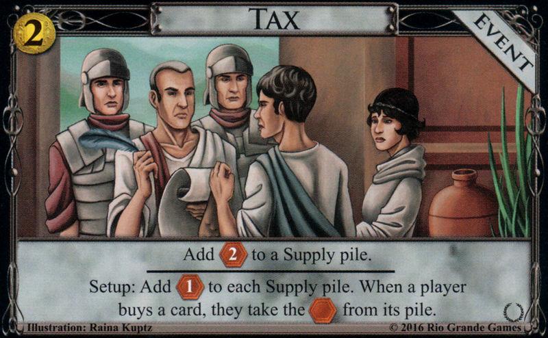 Dominion - Empires - Tax